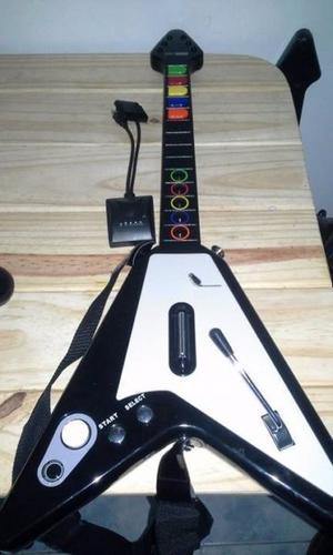 Guitarra para Guitar Hero y Rock Band - Ps2 Ps3 y Wii (1)
