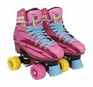 Patines Soy Luna Profesionales Original Disney Talle 32 A 38