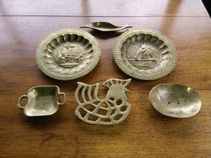 Vendo piezas de bronce antiguo