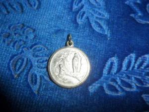 Antigua Medalla De Plata 900.sellada. Microcentro-avellaneda