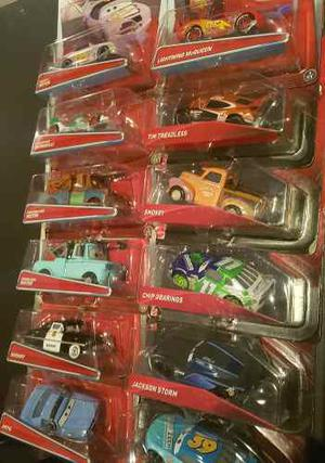Autos Disney Cars 3 Y 2 Mattel Original Metal 48 Modelo