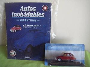 Coleccion De Autos Inolvidables Salvat N°6 Citroen 3cv