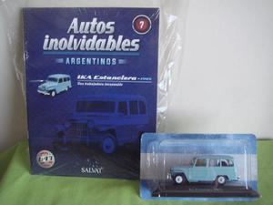Coleccion De Autos Inolvidables Salvat N°7 - Estanciera Ika