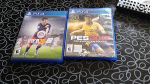 Dos juegos de ps4