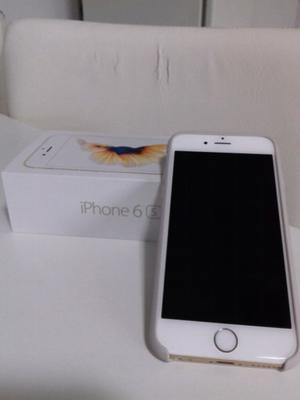 Iphone 6s de 64gb gold completo en caja