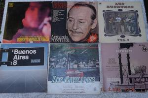 LOTE DE SEIS DISCOS DE VINILO LONG PLAY