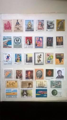 Lote 96 Estampillas Mint De Argentina Distintas