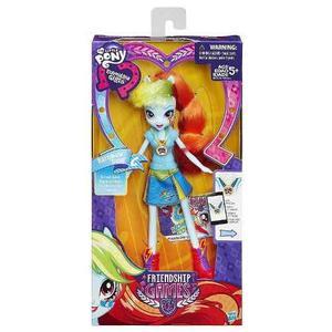 Muñeca Equestria Girls Rainbow Dash - Jugueteria Aplausos