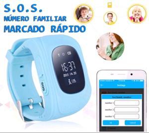 Reloj rastreador GPS para niños Q50