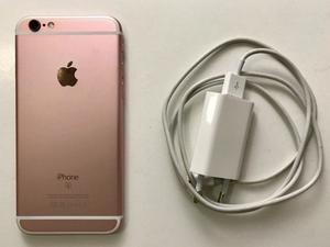 Vendo iPhone 6s gold rose 16gb 8 meses de uso!