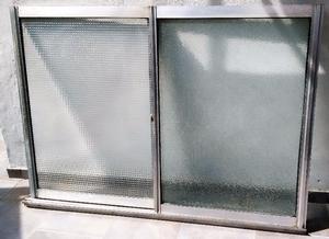 Ventana de aluminio pesado