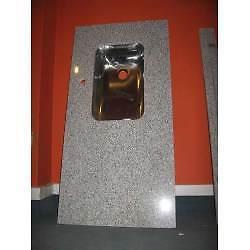 mesada de 1,20mts en granito natural y marmol p/ cocina $