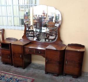 Antiguo Juego De Dormitorio Art Deco
