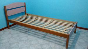 Cama infantil para dormitorio de una plaza posot class for Cama de una plaza precio