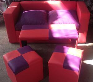 Juego de sillón cubo