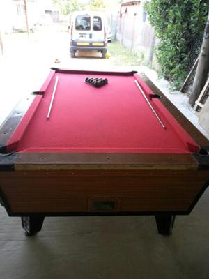 Vendo pool profesional con fichero
