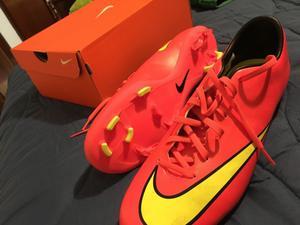 Botines Nike mercurial nuevos sin uso Us 11.5