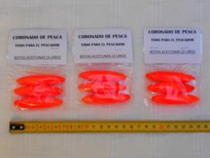 Boyas Aceitunas - Pack 3 Unidades - Ideal Pesca Pejerrey