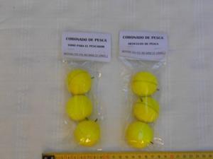 Boyas Yo-yo 40 Mm - Pack 3 Unidades - Ideal Pesca Pejerrey