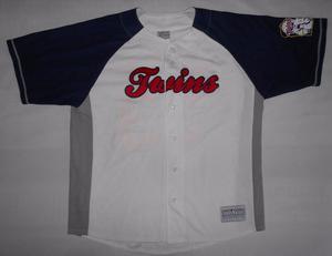 Casaca De Baseball -33- Xl - Minnesota Twins - Tf