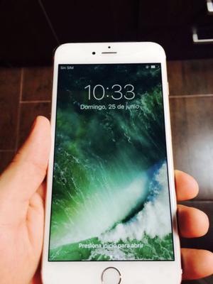 IPhone 6s Plus Gold de 64gb impecable estado parece nuevo