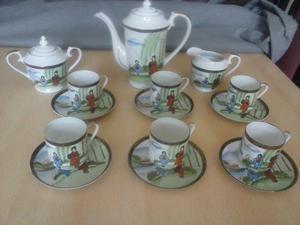 Juego de Cafe de Porcelana China