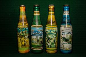 Lote de botellas Quilmes colección
