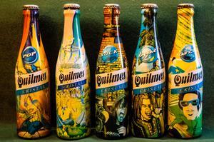Lote de botellas Quilmes coleccion