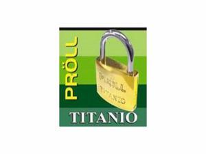 Candado Titanio 25mm Proll