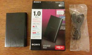 Disco duro externo Sony Hd-e1 de 1tb