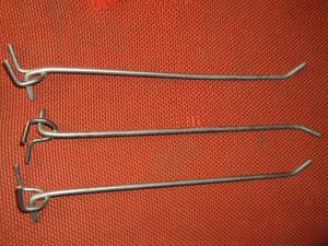 Soporte ganchos para pared o techo para bicicleta posot for Madera para colgar ganchos