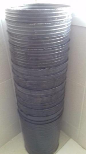Macetas Sopladas Plastico por cantidad / De Cultivo Varias