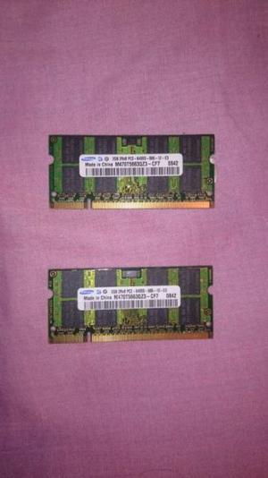 Memorias ram DDR2 SDRAM 4gb 800MHZ Samsung original