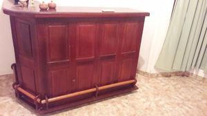 Mueble Esquinero de Algarrobo