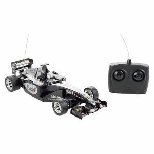 Auto De Carreras F1 Negro (a Control Remoto)