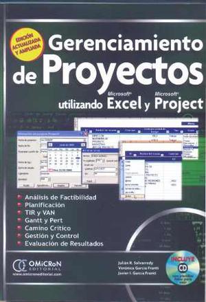 Gerenciamiento De Proyectos Utilizando Excel Y Project