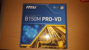 Mother MSI B150 Profesional sin uso
