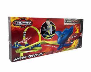 Pista De Autos Shark Track Con 2 Coches Incluidos Teamsterz