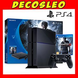 Playstation gb UNCHARTED 4 EDITION + 1 Joy
