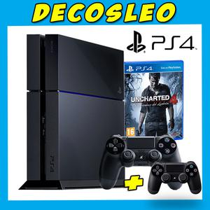 Playstation gb UNCHARTED 4 EDITION + 2 Joy