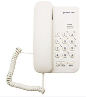 Telefono Fiji Panacom Telefono Mesa Con Cable Buena Calidad