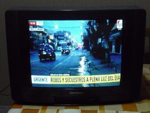 Televisor color Hitachi 21 pulgadas con control remoto