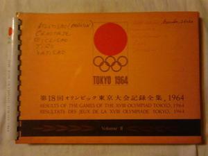 Tokio  Results Of The Games Of The Xviii Olimpiad Tomo 2