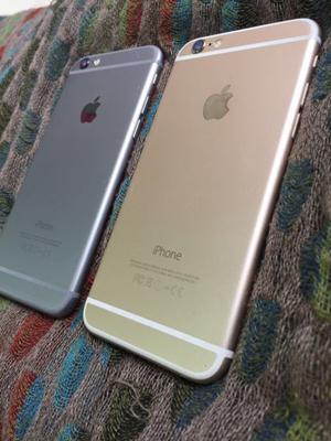 iPhone 6 gold y grey