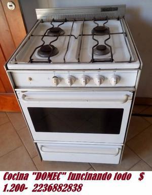 """Cocina """"DOMEC"""" funcionando"""