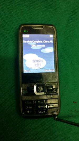 Nokia E71 TV Libre Dual Sim Ok con batería y cargador