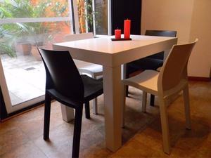 Lote de sillas mascardi modelo posadas posot class for Sillas cocina negras