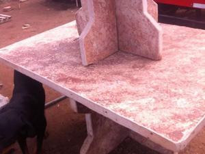 Vendo mesas de piedras