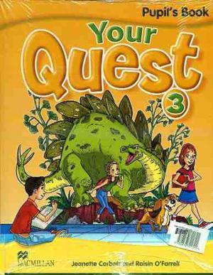 Your Quest 3 - Pupil S Book + Activity Book - Macmillan