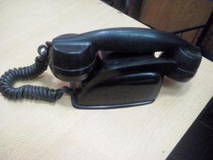 portero telefono baquelita negro antiguo